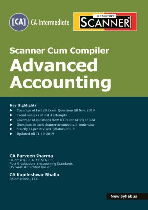 Scanner Cum Compiler Advanced Accounting (New Syllabus)