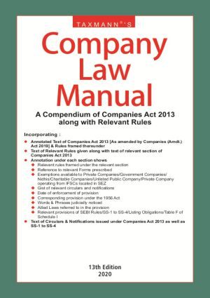 Company Law Manual