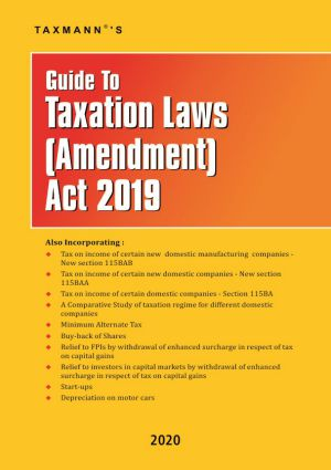 Guide To Taxation Laws (Amendment) Act 2019