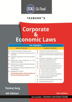 Corporate & Economic Laws (CA- Final) - New Syllabus