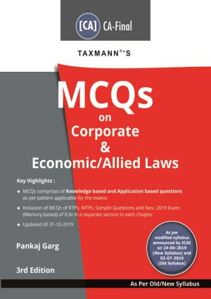MCQs on Corporate & Economic/Allied Laws