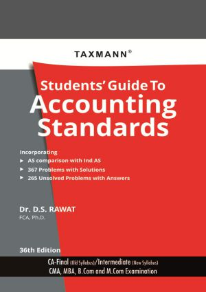 Students Guide to Accounting Standards - CA Final (old syllabus)/Intermediate (New Syllabus) (e-book)