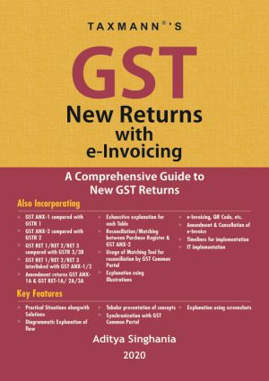 GST New Returns with e-Invoicing