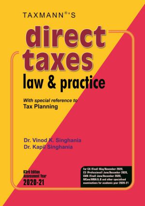 Direct Taxes Law & Practice (e-book)
