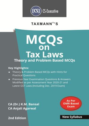 MCQs on Tax Laws