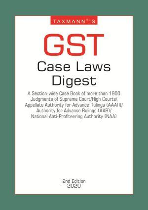 GST Case Laws Digest (e-book)