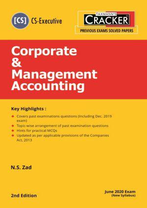 Cracker - Corporate & Management Accounting (CS-Executive) New Syllabus