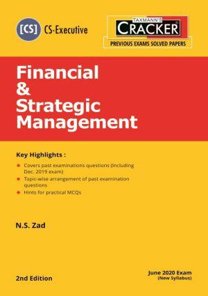 Cracker - Financial & Strategic Management (CS-Executive) New Syllabus (e-book)