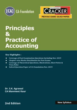 Cracker - Principles & Practice of Accounting (CA-Foundation) New Syllabus (e-book)