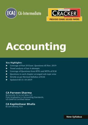 Cracker - Accounting (CA-Intermediate) New Syllabus (e-book)