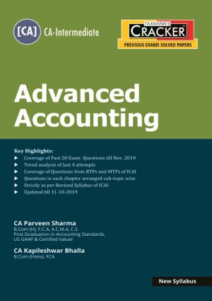 Cracker - Advanced Accounting (CA-Intermediate) New Syllabus