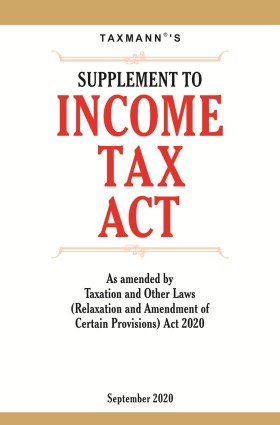 Supplement To Income Tax Act