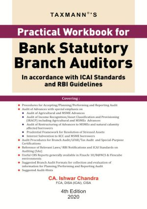 Practical Workbook for Bank Statutory Branch Auditors (e-book)