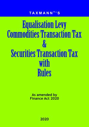 Equalisation Levy Commodities Transaction Tax & Securities Transaction Tax with Rules