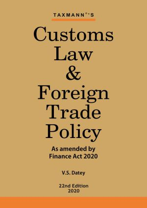 Customs Law & Foreign Trade Policy