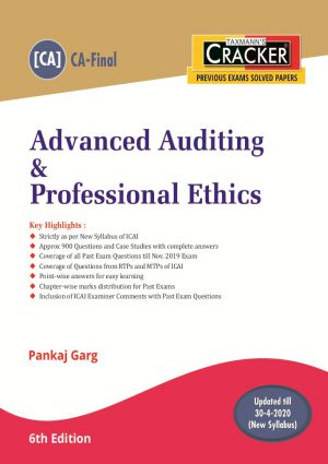 Cracker - Advanced Auditing & Professional Ethics (CA-Final) New Syllabus