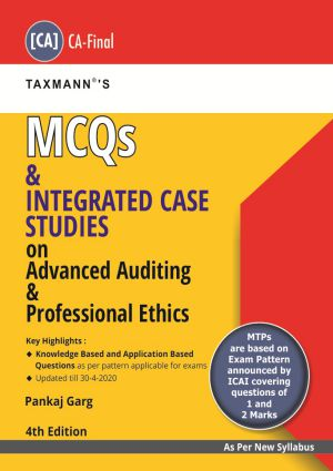 MCQs and Integrated case Studies on Advanced Auditing & Professional Ethics
