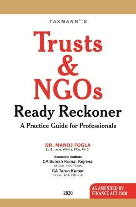 Trusts and NGOs Ready Reckoner
