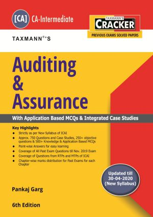 Cracker - Auditing & Assurance by Pankaj Garg - New Syllabus (CA-Intermediate)