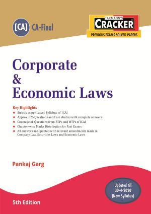 Cracker - Corporate & Economic Laws (CA-Final) New Syllabus