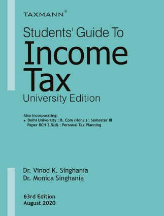 Students Guide To Income Tax (University Edition)