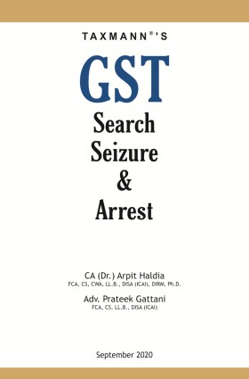 GST Search, Seizure & Arrest