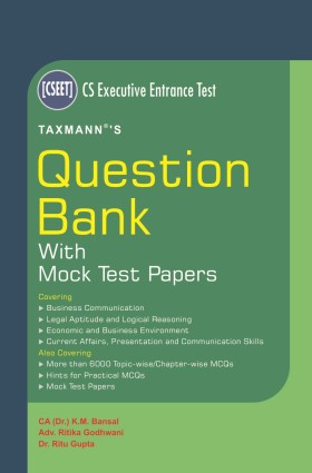 CS Executive Entrance Test | Question Bank