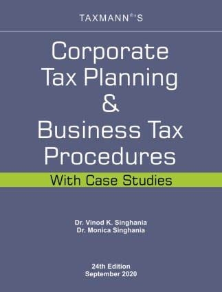 Corporate Tax Planning & Business Tax Procedures