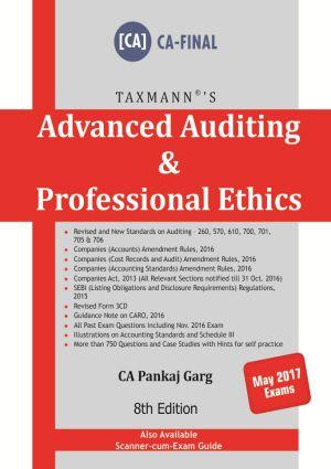 Advanced Auditing & Professional Ethics (CA-Final) by Pankaj Garg