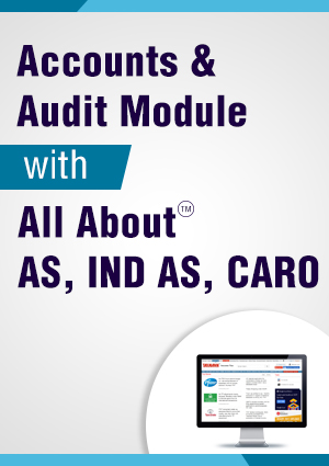 Accounts and Audit Module with All About AS, Ind As, CARO