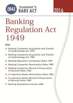 Banking Regulation Act 1949 (e-book)