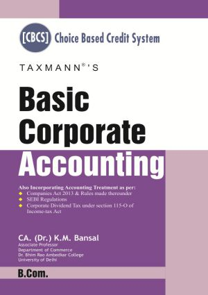 Basic Corporate Accounting (B.com)