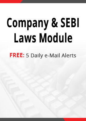Company & SEBI Laws Module