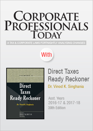 Corporate Professionals Today and Direct Taxes Ready Reckoner