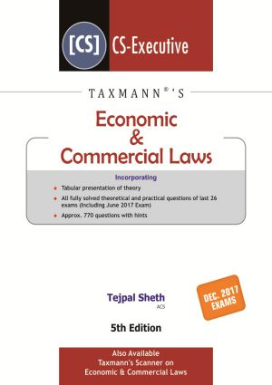 Economic & Commercial Laws by Tejpal Sheth
