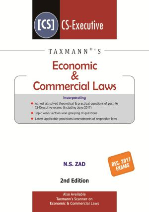 Economic & Commercial Laws by N.S Zad