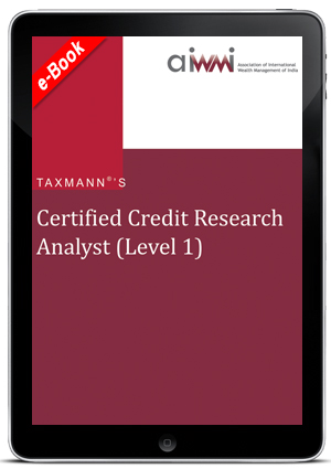 Certified Credit Research Analyst  (Level I) (AIWMI) (E-book)