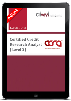 Certified Credit Research Analyst (Level II) (AIWMI) (E-book)