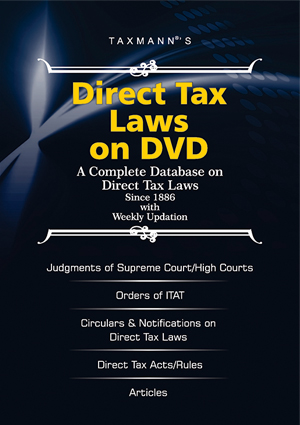 Direct Tax Laws on DVD