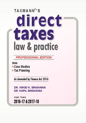 Direct Taxes Law & Practice (Hardbound)