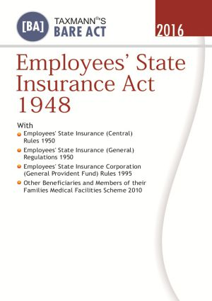 Employees State Insurance Act 1948 (e-book)