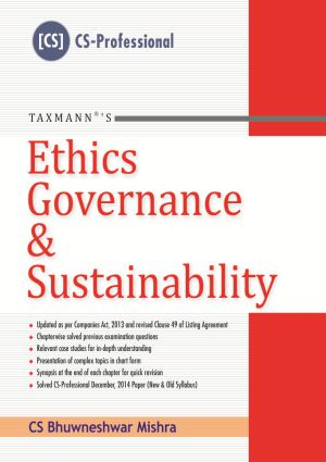 Ethics Governance & Sustainability