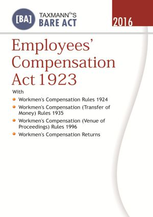 Employees Compensation Act 1923 (e-book)