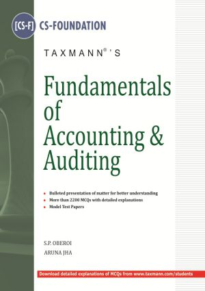 Fundamentals of Accounting and Auditing ( CS-FOUNDATION )