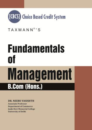 Fundamentals of Management B.Com(Hons.)