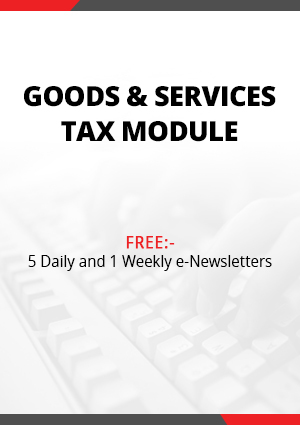 Goods & Services Tax Module