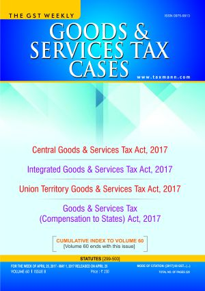 Goods & Services Tax Cases with 2 Daily e-Mail Alerts
