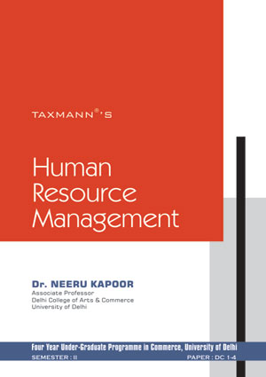Human Resource Management by Dr. Neeru Kapoor