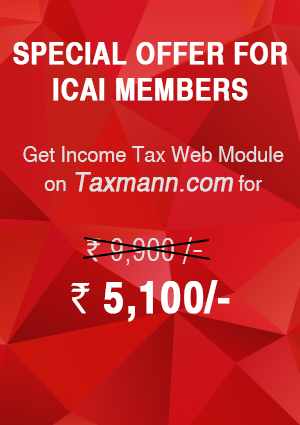 Income Tax Module with All About Income Tax Act - ICAI Members with 3 Daily e-Mail Services