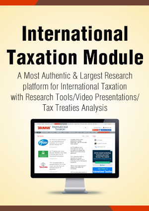 International Taxation Module with 3 Daily e-Mail Services
